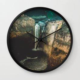 Washington Heights - nature photography Wall Clock