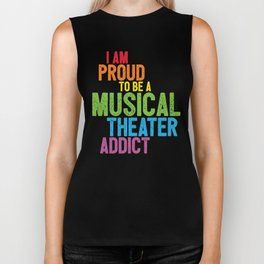 Musical Theater Pride Biker Tank