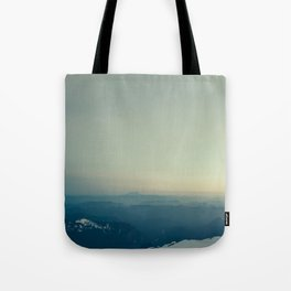 St Helens from Rainier Tote Bag