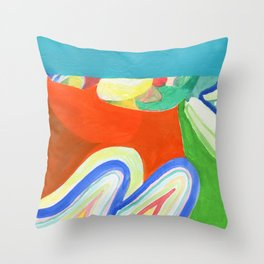Super Swoop Throw Pillow