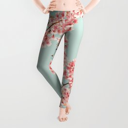 Blossoming Candy Branches Leggings