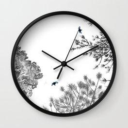 Calico Pie Wall Clock