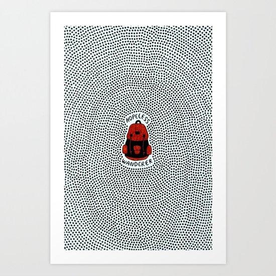 hopeless wanderer Art Print