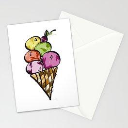 Yum Ice Cream! Stationery Cards
