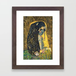 The Kiss -- Like Starlight Framed Art Print