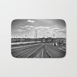 Rail Roads Bath Mat