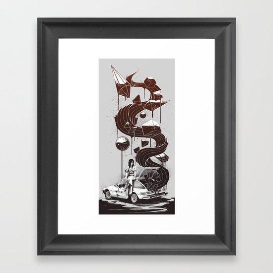 Whata Trip! Framed Art Print
