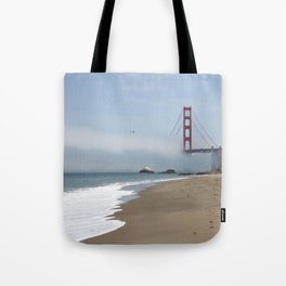 Another Foggy Day In San Francisco Tote Bag
