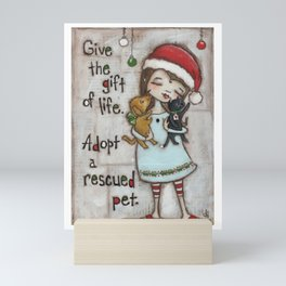 The Gift of Life - by stuDIo DUDA art Mini Art Print