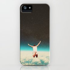 Falling with a hidden smile iPhone (5, 5s) Slim Case