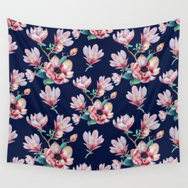 Romantic Floral Seamles Pattern 2 Wall Tapestry