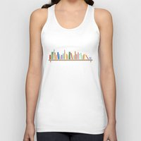 books Tank Tops featuring Books by Becky Gibson