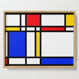 Mondrian Serving Tray