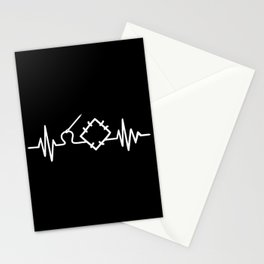 Quilting Heartbeat Stationery Cards