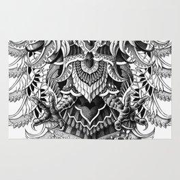 Heraldic Phoenix Rug