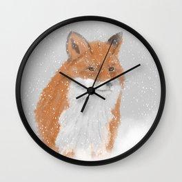 Winterfox Wall Clock