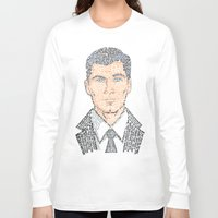 archer Long Sleeve T-shirts featuring Archer Quotes by 666HUGHES