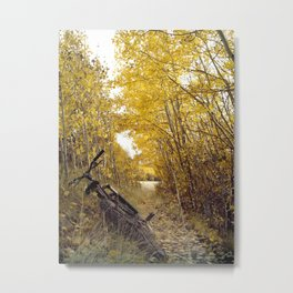 Beautiful pause Metal Print