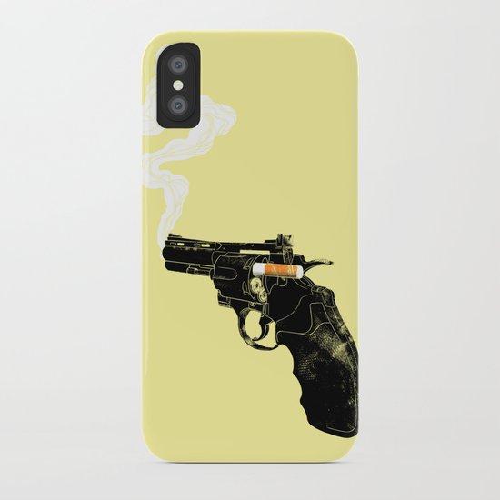 Smoking Gun iPhone Case