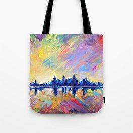 Brilliant Dawn Tote Bag
