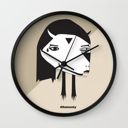 SuperMonster Wall Clock