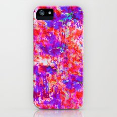 FLORAL SUNSET iPhone (5, 5s) Slim Case
