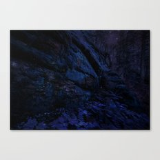 Enchanted Midnight Forest Wall Canvas Print