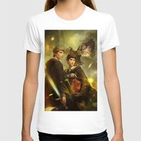 merlin T-shirts featuring BBC Merlin: Emrys Ascending  by mushroomtale