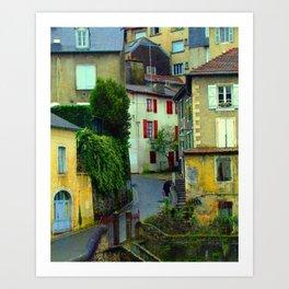 Rue René Fournet Art Print