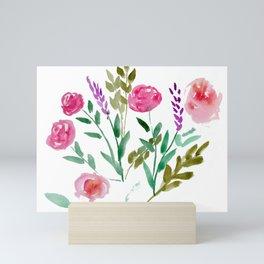 Country Bouquet Mini Art Print