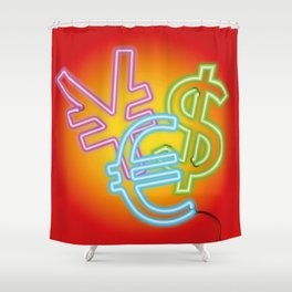 CA$H Shower Curtain