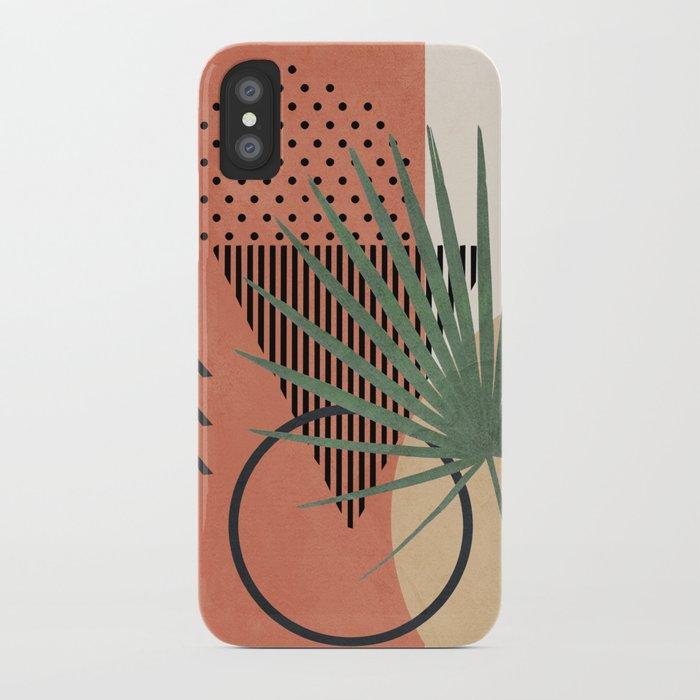 Nature Geometry II iPhone Case