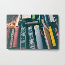 books and memories Metal Print