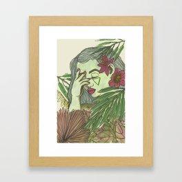 Forest Enchanter Framed Art Print