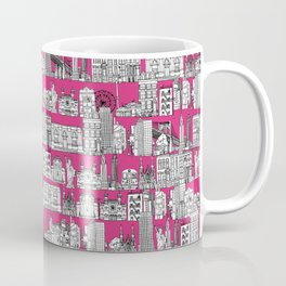New York pink Coffee Mug
