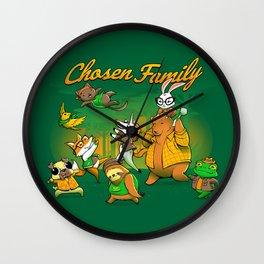 Chosen Family Wall Clock