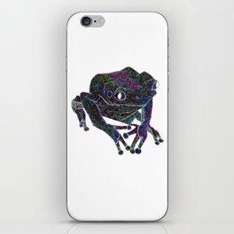 Psychedelic Giant Monkey Frog iPhone Skin