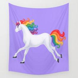 wanderlust (rainbow unicorn) Wall Tapestry