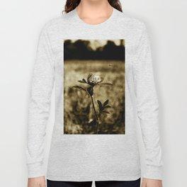 Flowers - Wildflower Monotone Long Sleeve T-shirt