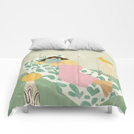 Shoot For The Stars Comforters