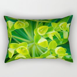 Spring Green Rectangular Pillow