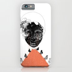 Moonrise mountain (mother earth cries) iPhone 6s Slim Case