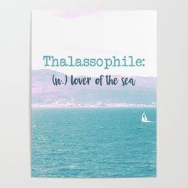 Thalassophile Poster