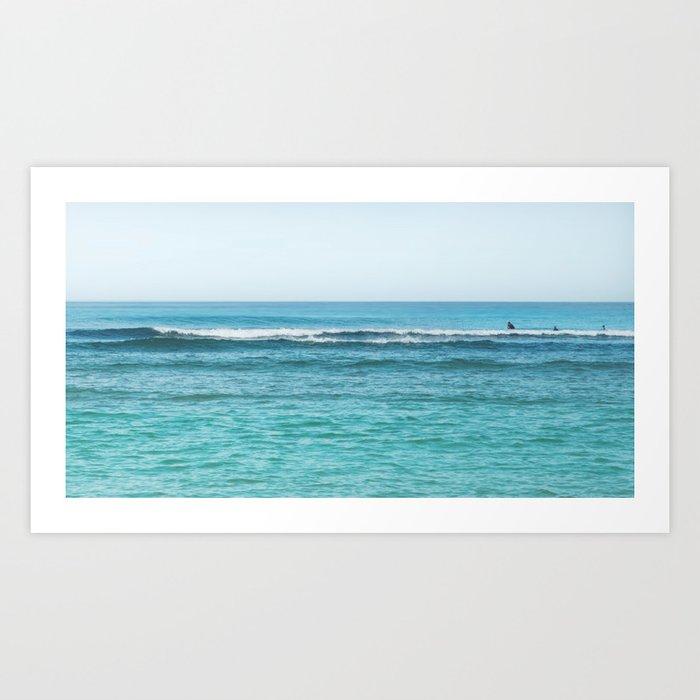 Morning Break / surf photography Art Print