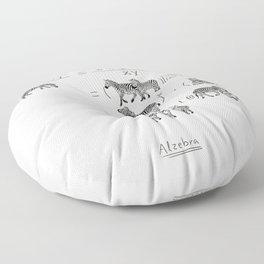 Alzebra Floor Pillow