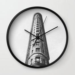 Flat Iron Wall Clock