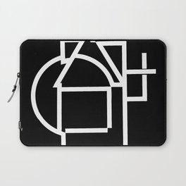 Astract house negative Laptop Sleeve