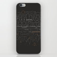 City 24 iPhone & iPod Skin