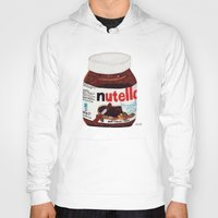 nutella Hoodies featuring Nutella by Angela Dalinger
