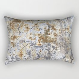 Yellow Painted Wall Warm Rectangular Pillow